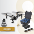 Bundle-gold-Inspire-2-XS4-Dji-remote-battery