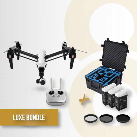 Bundle-gold-Inspire-V2-battery-dji-remote-lens-filters-gpc-case