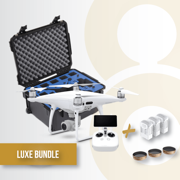 Bundle-gold-P4-pro-plus-polarpro-filters-gpc-case-remote-verydrone