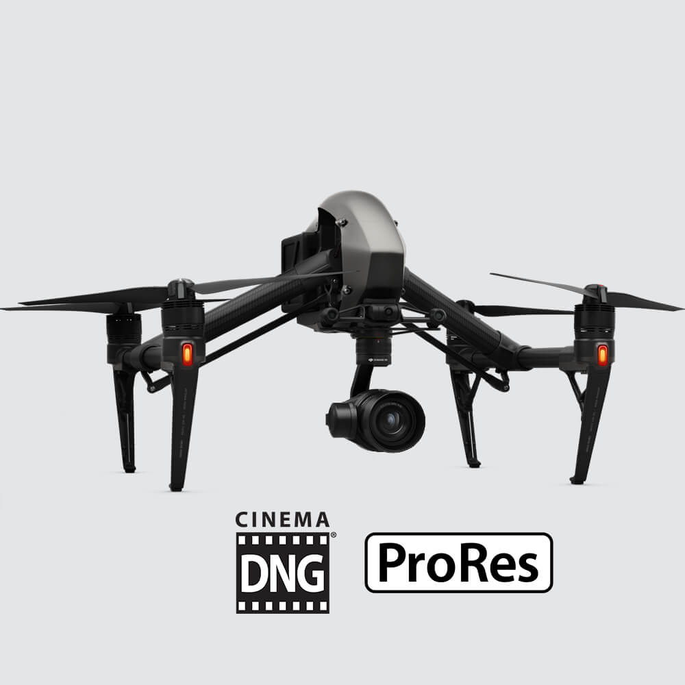 DJI Inspire 20 Quadcopter Combo Includes Zenmuse X5S Camera Gimbal Remote Controller CinemaDNG And Apple ProRes License Key