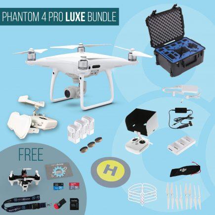 DJI Phantom 4 Pro - Luxe Bundle