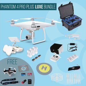 DJI Phantom 4 Pro Plus with screen remote controller – Luxe Bundle