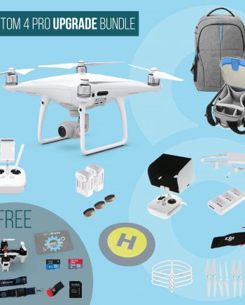 DJI Phantom 4 Pro - Upgrade Bundle