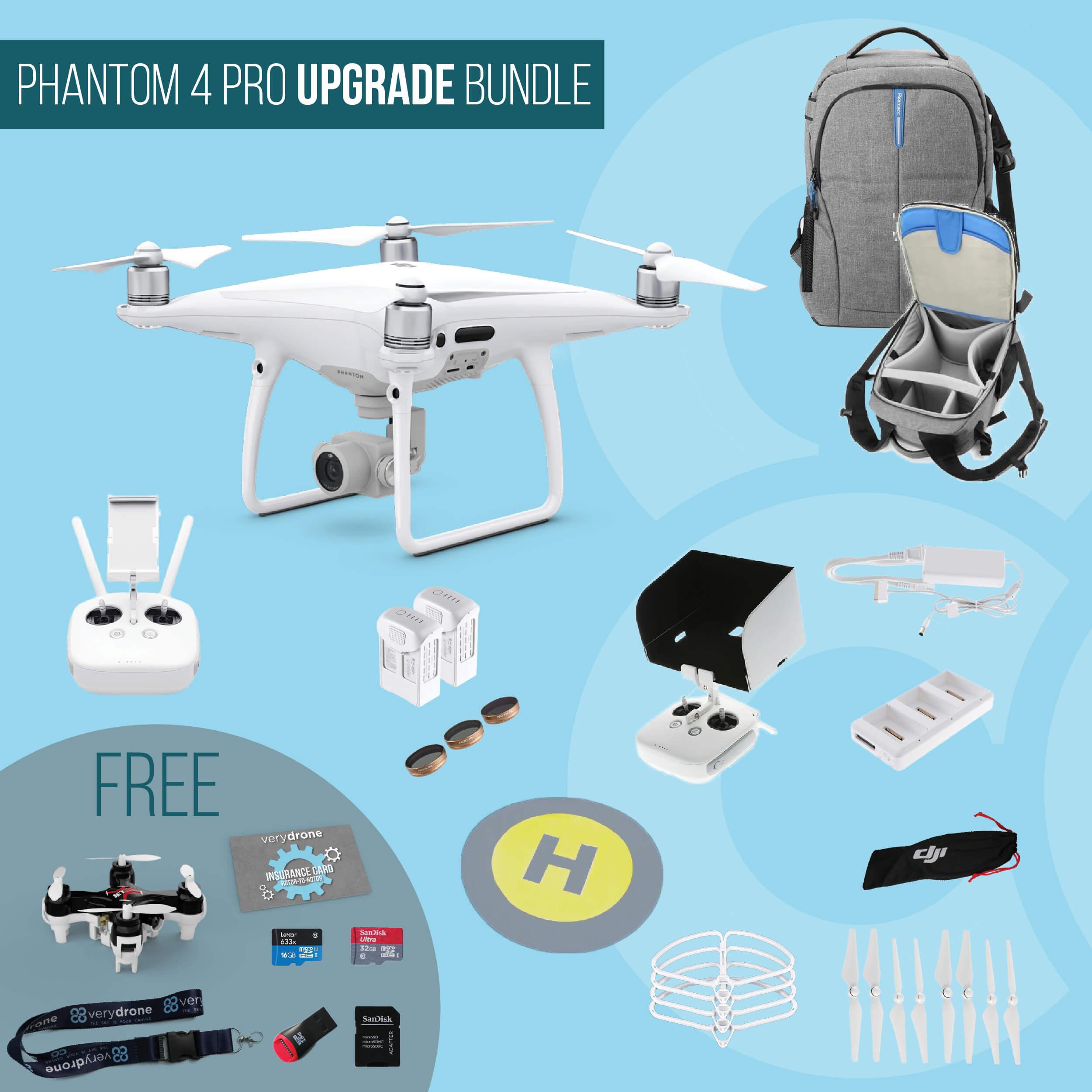 DJI Phantom 4 Pro - Upgrade Bundle