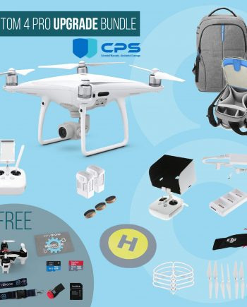 DJI Phantom 4 Pro - Upgrade Bundle insured