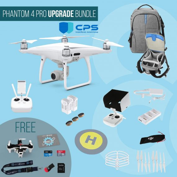 DJI Phantom 4 Pro – Upgrade Bundle insured