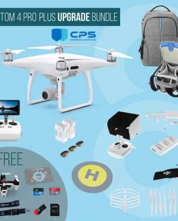 DJI Phantom 4 Pro Plus with screen remote controller - Upgrade Bundle insured