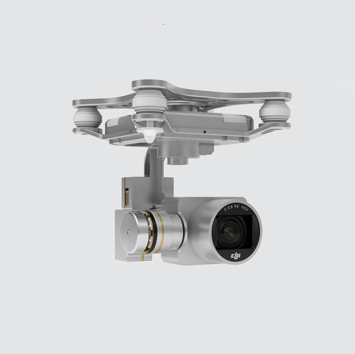 DJI Phantom 3 Standard Quadcopter Drone (DJI Refurbished Unit)