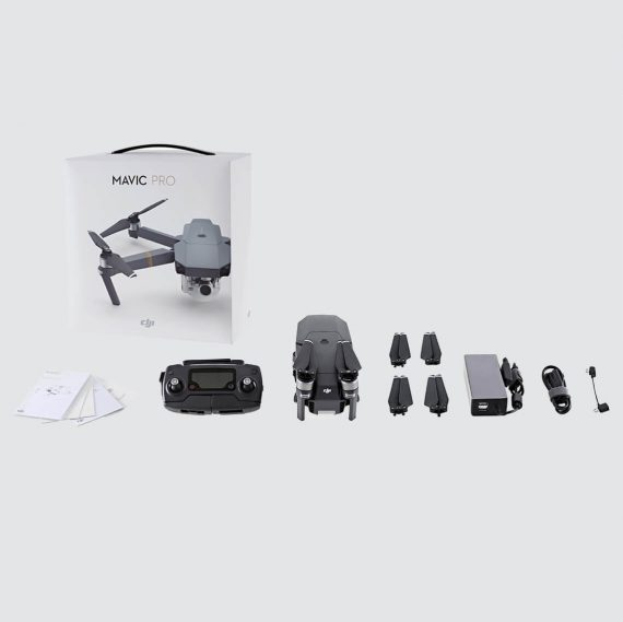 DJI Mavic Pro 4K HD Foldable Drone Fly More Combo Pack