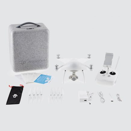 DJI Phantom 4 Quadcopter Drone 20MP 4K Camera