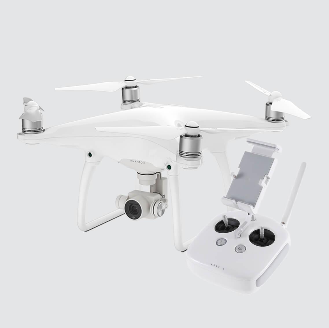 DJI Phantom 4 Advanced 1-inch 20MP sensor