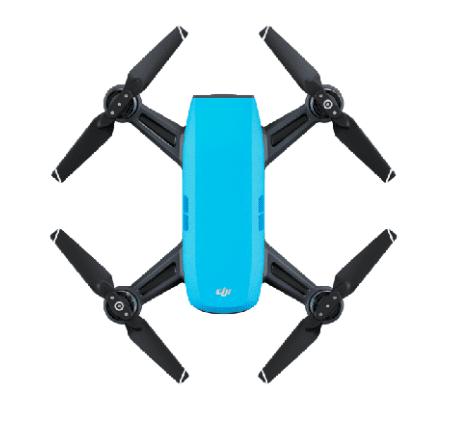 Sky Blue - DJI Spark Mini Drone