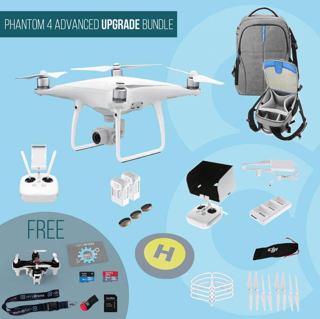 DJI Phantom 4 Advanced - Upgrade Bundle