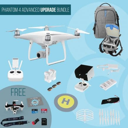 DJI Phantom 4 Advanced - Upgrade Bundle