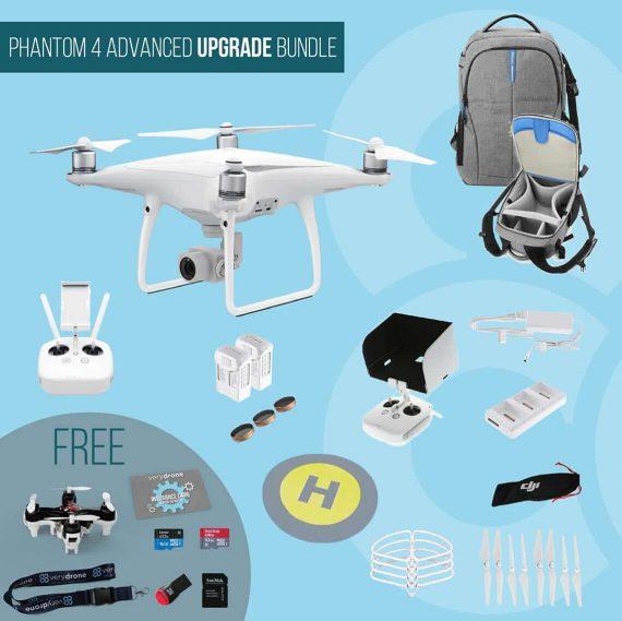 DJI Phantom 4 Advanced – Upgrade Bundle
