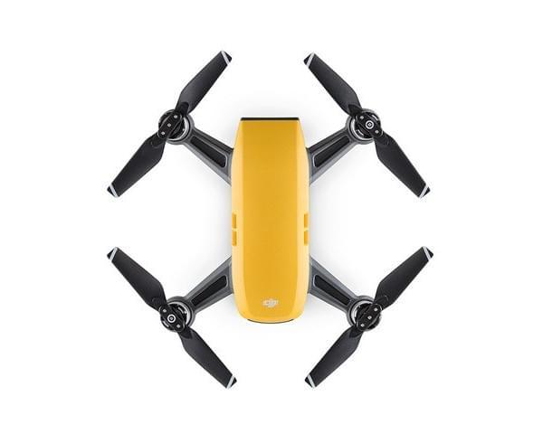 Sunrise Yellow DJI Spark Mini Drones