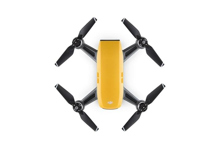 Sunrise Yellow DJI Spark Mini Drones