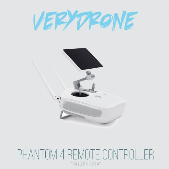 Phantom 4 remote controller with display