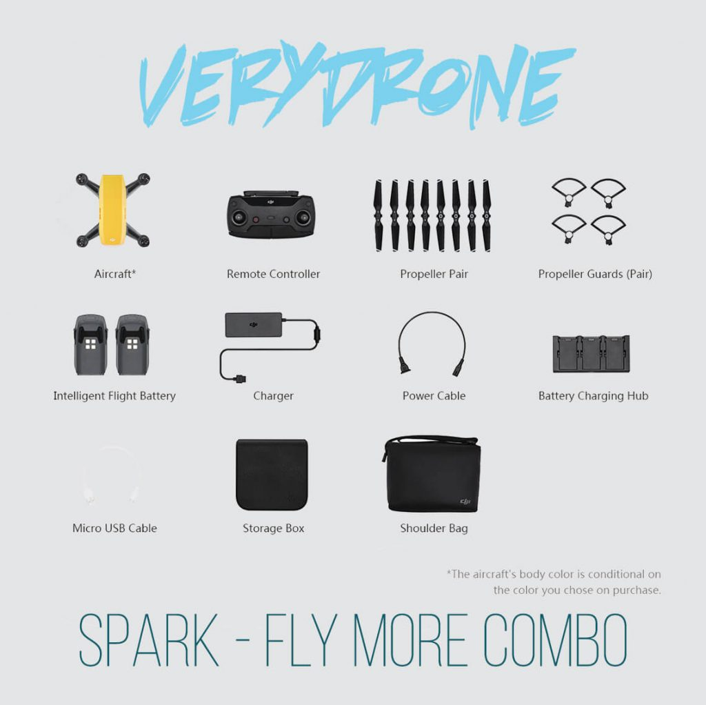 Sunrise Yellow - DJI Spark Mini Drone