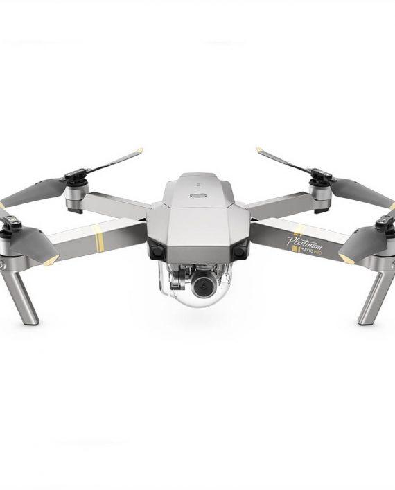 Dji Mavic Pro Platinum Foldable Drone With 4k Hd Camera