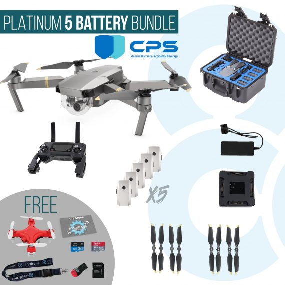 PLATINUM Mavic 5 battery INSURED-01