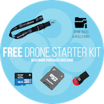 Free Drone Starter Kit (any purchase over $899)