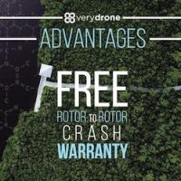 Free 30 Day Rotor-to-rotor Crash Warranty