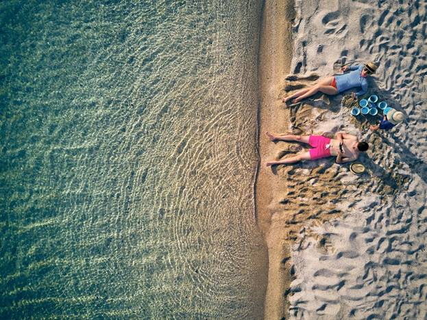 holiday drone photography
